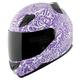 Purple/White United By Speed SS1200 Helmet