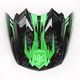 Hi-Viz Neon Green/Black MC-4 Visor - 0964-6020-04