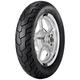 Rear D404 120/90H-18 Blackwall Tire - 32NK-36