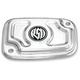 Chrome Cafe Front Brake Master Cylinder Cover - 0208-2114-CH