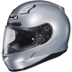 Metallic Silver CL-17 Helmet