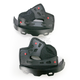 Black Firm Cheek Pad Set for X-Large and XX-Large Star Helmets