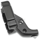 Matte Black Clutch Lever Bracket - 0615-0196