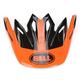 Red/Black Visor for Moto-9 Infrared Intake Helmet - 8031070