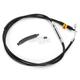 Black Vinyl Coated Clutch Cable for Use w/Mini Ape Hangers - LA-8110C08B