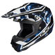 Black/Blue/White Hydron CL-X6 Helmet