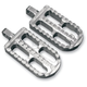 Long Adjustable Serrated Billet Footpegs - 08-56-2