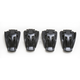 Youth Black Boot Buckle Kit - 3430-0428