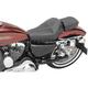 SaddleHyde GC-Style Dominator Solo Seat w/ Backrest Option - 807-030-042