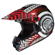 Youth Red/Black/White Wanted CL-XY Helmet