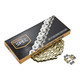 Gold 520 NZG Chain - 100 Links - FS-520-NZG-100