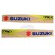 Suzuki Swingarm Graphics - 2011 Style - 14-42420