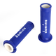 Blue/White Domino MotoGP Grips - A01041C4648