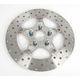 Front Wide Band Stainless Steel Custom Rotor - 5 Button Floating - FSD009