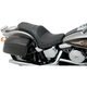 Smooth One Piece Solo Seat w/Driver Backrest Option - 0802-0729