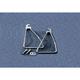 Chrome Saddlebag Support Brackets - DS-110854