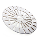 Front 11.5 in. Klassic Polished Stainless Steel Brake Rotor - 1710-2023