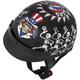 Grateful Dead Dancing Skeletons Half Helmet