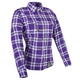 Womens Purple Smokin Aces Moto Shirt