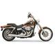Chrome Short 2-1 Road Rage Exhaust System w/Heat Shields - 13112J