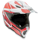 White/Red Flagstars AX8 EVO Helmet