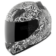White/Black United By Speed SS1200 Helmet
