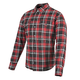 Red/Black Black Nine Reinforced Moto Shirt