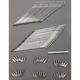 Chrome Spoke Set for 16 in. Wide Glide Steel Hub - DS-380105