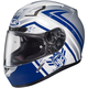 Blue/White CL-17 MC-2F Mech Hunter Helmet