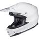 White FG-X Helmet