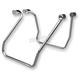 Chrome Saddlebag Support Brackets - 110825