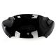 Black 9 in. Sport Flare Windshield - 2310-0582