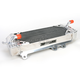 Left X-Braced Aluminum Radiator - MMDBKX250F10LX