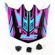 Youth Black/Blue/ Pink MC-8 CL-XY Fulcrum Helmet Visor - 0963-6019-08