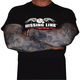 Gunz N Money Dark Skin Tattoo Sleeves
