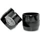 Gloss Black Powdercoat End Cap For True Power 4 in. Slip-On Mufflers - LA-1092-42B