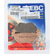 Double-H Sintered Metal Brake Pads - FA319/2HH
