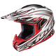 White/Silver/Red Airaid RPHA-X Helmet