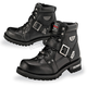 Mens Road Captain Leather Boots