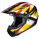 Black/Yellow/White Spectrum CL-X6 Helmet
