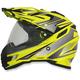 Hi-Vis Yellow Multi FX-41DS Helmet