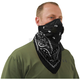 Black Pro Series Bandana Dust Mask - BDMBLK