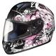 Black/Pink/White Virgo CL-16 Helmet
