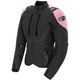 Womens Black/Pink Atomic 4.0 Jacket