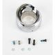 Crusher Chrome Slip Stream Exhaust Tip for Crusher Mufflers - 493