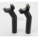 5.5 in. Black Risers with 1 in. Pullback - 0602-0415
