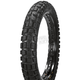 Front K784F Big Block 110/80B-19 Blackwall Tire - 047841923B0