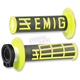 Black/Yellow Emig V2 Lock-On Grips - H32EMBY1