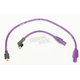 Purple 8mm Pro Spark Plug Wires w/180 Degree Boot - 77333