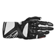 Black/White SP-8 Leather Glove
